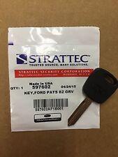 NEW Strattec Ford 4C Transponder Key Blank 80-Bit 011-R0219 011-R0221 597602