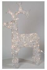 Kaemingk LED Outdoor Acrylic Reindeer 120cm Warm White .
