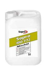 6,59€/KG Sopro Mischöl MÖ 772 Öl für Putzmörtel Mauermörtel Beton Estrich 5 L