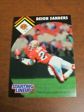 Deion Sanders 1995 Kenner Starting Lineup Card - San Francisco 49ers