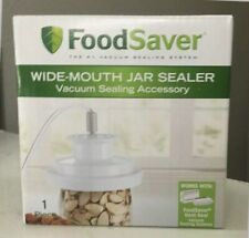 New listing T03-0023-01P - Sunbeam FoodSaver Vacuum Sealing Accessory Wide-Mouth Jar Sealer