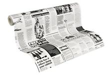 wallpaper newspaper black white wallpaper AS Creation Decora Natur 6 8560-12 856