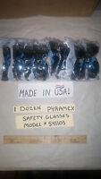 Lot 1 Dozen (12) PYRAMEX -SILVER MIRROR INTRUDER  SAFETY GLASSES, MODEL #S4170S.