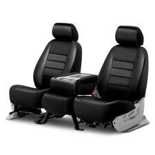 For Chevy Silverado 1500 07-11 Fia LeatherLite Series 1st Row Black Seat Covers
