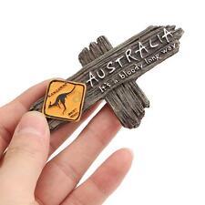 3.5X2'' Tourist Souvenir Resin 3D Fridge Magnet Kangaroo Australia Travel Gifts