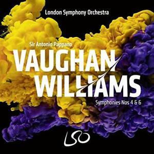 Ralph Vaughan Willia-Vaughan Williams Symphonies Nos 4 & 6 (US IMPORT) CD NEW