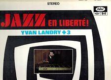 RADIO-CANADA CAPITOL 6000 DUOPHONIC JAZZ LP YVES LANDRY QUARTET  JAZZ EN LIBERTE