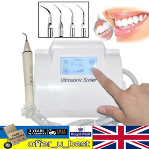 Ultrasonic Piezo Scaler Dental Teeth Cleaner Tartar Removal Whitening Machine