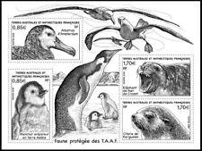 fsat 2018 taaf bird pinguin seal aves vogel pingouin otarie oiseaux ms4v mnh **