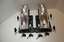 NEW GMC WORK TRUCK HEAD LIGHTS HEADLIGHTS 1997 1998 1999 2000 2001 2002