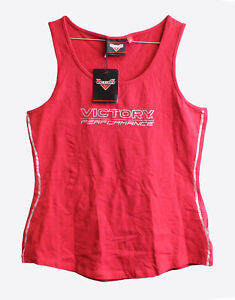 Genuine Victory Motorcycles Women's Stripe Tank Size M 286630803