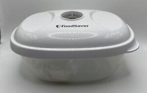 FoodSaver Lunch & Leftover Vacuum Sealed Container Lid Bowl Microwave Safe 24oz