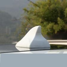 White - Car Auto Roof Top Mount Shark Fin Shape Antenna Decorate Aerial For BMW