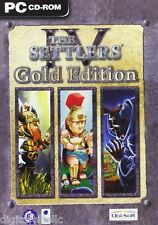 The Settlers IV 4 Gold Edition PC with The Mission, Trojans and Elixir of Power