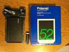 Polaroid 52 4x5 + dos 545