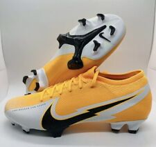 New listing Nike Mercurial Vapor 13 Pro FG Soccer Cleats Orange Mens Size:10 AT7901-801