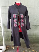 Chinese embroidered coat jacket mandarin collar ethnic retro