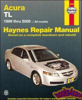 ACURA TL SHOP MANUAL SERVICE REPAIR BOOK HAYNES CHILTON OWNERS WORKSHOP