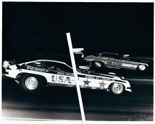 1970s Drag Racing-Bruce Larson's USA-1 AA/FC Camaro vs GENE ALTIZER's Funny Car