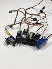 Various Radio Controlled Servos Joblot. JP SuperTec, Tower Pro, JR, Emax Etc...