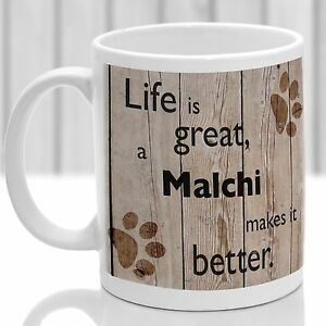 Malchi dog mug, Malchi dog gift, ideal present for dog lover