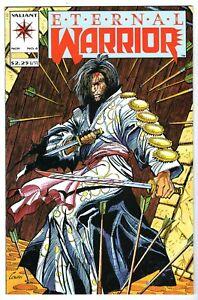 Eternal Warrior #4 - First Brief Appearance Bloodshot, Near Mint Minus Condition