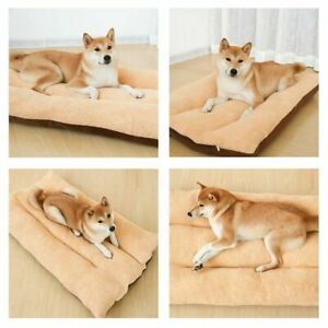Dog Bed Pet Cat Puppy Deluxe Faux Fur Washable Plush Cushion XL XXL Large Size