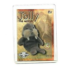 INCREDIBLY RARE Ty Series 2 EU VERSION GOLD JOLLY Retired Card #05 of ONLY 14!!