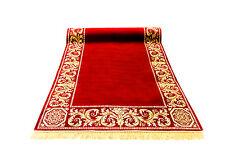 Tapis coureur 67x300 cm K-soie méandres Méduse meubles carpet rug Baroque versac