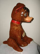 VTG 30's GUND PEDRO WALT DISNEY STUFFED RUBBER FACE MOVING HEAD PUPPY DOG TOY