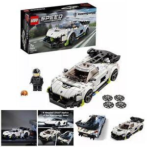 LEGO Speed Champions 76900 Koenigsegg Jesko Racing Sports Car Age 7+ 280pcs