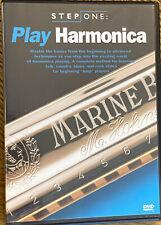 Step One:Play Harmonica, Dvd