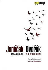 CZECH PHILARMONIC: JANÀCEK: TARAS BULBA/DVORÀK: THE WOOD DOVE USED - VERY GOOD D