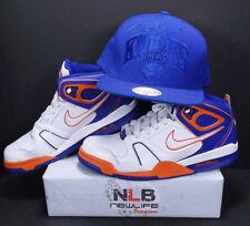 Nike Air Flight Falcon 397204-118 Orange/White/Blue Men's Sz 11.5 & HAT