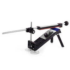 Knife sharpener kit system with fixed angle 4 stones J9R4
