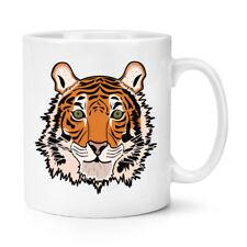 Tiger Face 10oz Mug Cup - Funny Animal