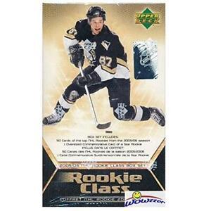 2005-06 Upper Deck NHL Rookie Class Hockey Hobby Set (Box)