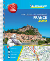 Michelin  France Road Atlas A4 Spiral 2019 (laminated)