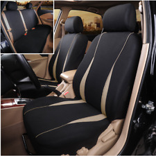 9Pcs Polyester Fabric Seat Protect Cover Full Set Universal Fit For Standard Car