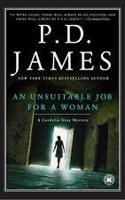 An Unsuitable Job for a Woman by P. D. James (2001, Trade Pback) Cozy Mystery