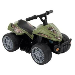 Huffy True Timber Camo Mini Quad ATV 6V Battery Powered Ride-On NIB