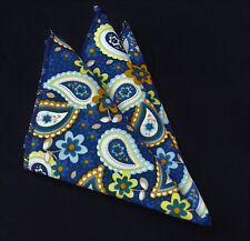 T33 MenWithTie Black Color Men Formal Pocket Square Hankie Party Handkerchief