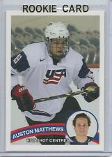 2015 Auston Matthews Hot Shot Centres Team USA Rookie Card RC Mint (Maple Leafs)