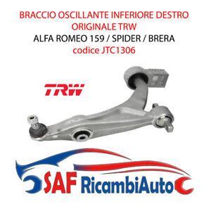 BRACCIO OSCILLANTE ANTERIORE INFERIORE DX TRW ALFA ROMEO 159 / BRERA JTC1306