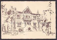BELLUNO AURONZO DI CADORE 26 VILLA SILVIA Cartoncino PRIVATO viaggiato 1970