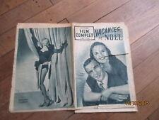REVUE FILM COMPLET 217 1950 vacances de noel deanna durbin gene kelly garson