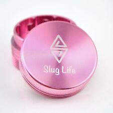 Slug Life Herb Grinder 2 Parts 1.5 Inch (Pink)