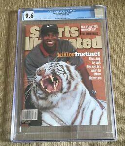 Tiger Woods 1998 Sports Illustrated Magazine NEWSSTAND CGC 9.6 POP 1