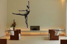 Wall Room Decor Art Vinyl Sticker Mural Decal Ballet Dance Women Ballerina FI379