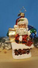 Radko Santa Have a very merry Christmas